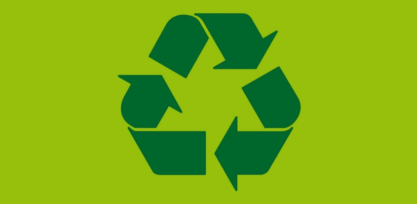 Photo symbole recyclage