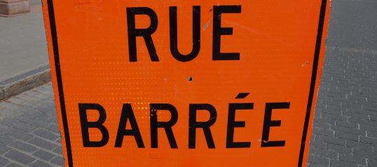 Fermeture temporaire du chemin Newton et de la rue Louis-Hébert
