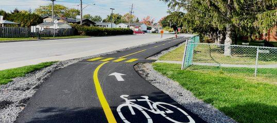 Nouveau lien cyclable entre le chemin Sainte-Marie et la rue Brien